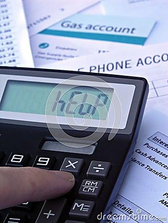 Calculadora y cuentas