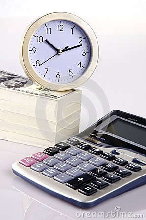 Calculating time and money