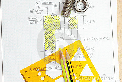 Calculation of flange bolt