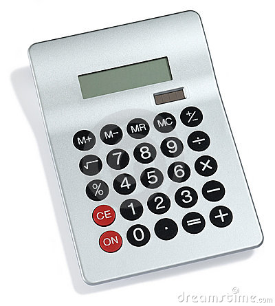 Free Calculator Royalty Free Stock Photo - 5700595