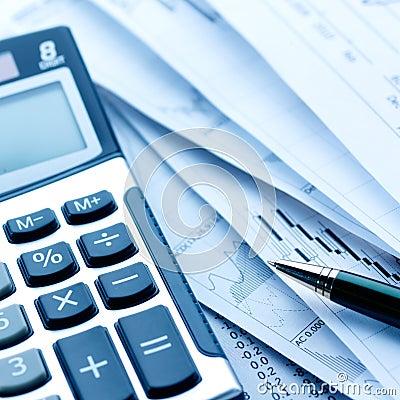 Calculator en rekeningen