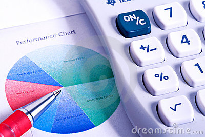 Calculator and Financial Figures