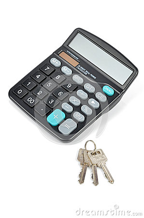 Calculator and key