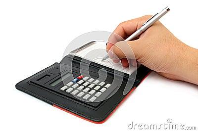 Calculator Memo Pad
