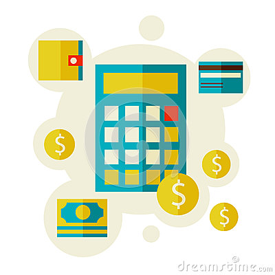 Calculator and money