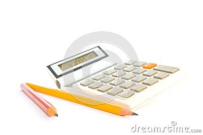 Calculator with Pencils