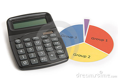 Calculator and Pie Chart