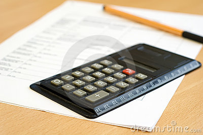 Calculator and sheet