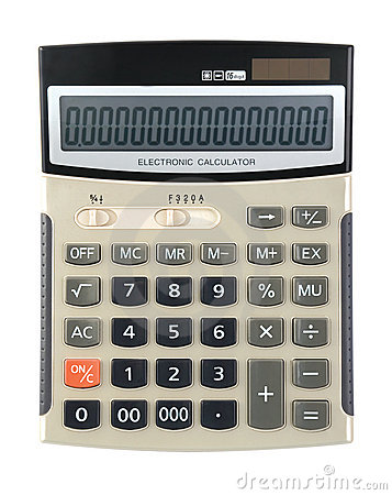 Calculator with zero