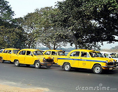 Calcutta s taxis