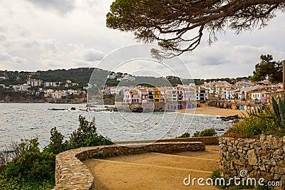Calella de Palafrugell fisher village Costa Brava