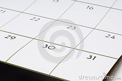 Calendário #1