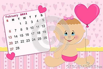Calendário Mensal Do Bebê Para 2011