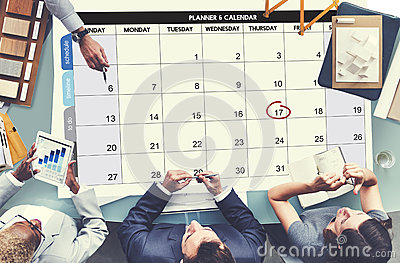 Calenda Agenda Day Deadline Event Meeting Concept Stock Photo