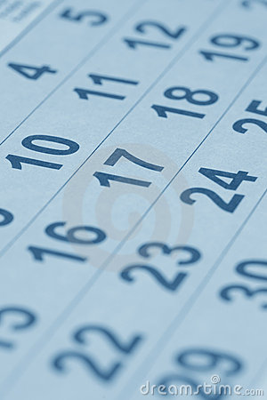 Free Calendar Royalty Free Stock Image - 10869936