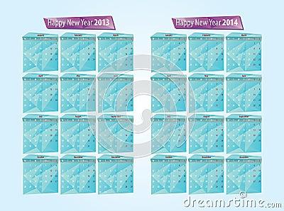 Calendar 2013, 2014