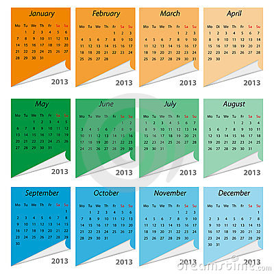 Calendar 2013, english