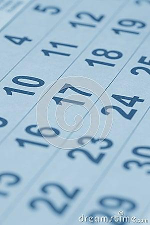 Free Calendar Stock Photo - 9539860