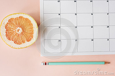 Calendar Appointment Agenda Schedule Planner Stock Photo