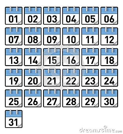 Calendar Date December 31 Stock Photos, Images, & Pictures - 137 ...