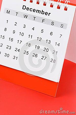 Free Calendar December Stock Photos - 9005923