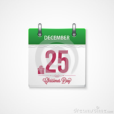 calendar frame happy merry christmas and new yea
