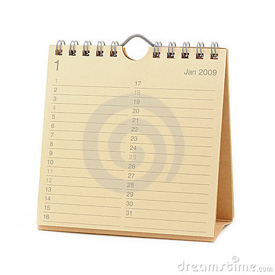 Calendar - January 2009