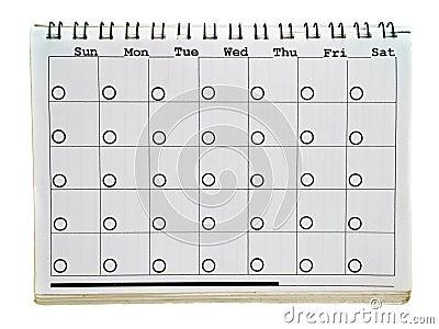 Calendar s page