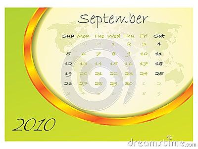 Calendar september 2010