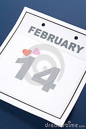 Calendar Valentine s Day