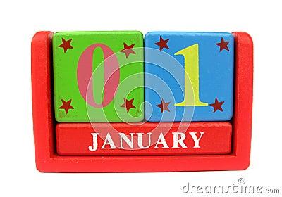 Calendar wooden
