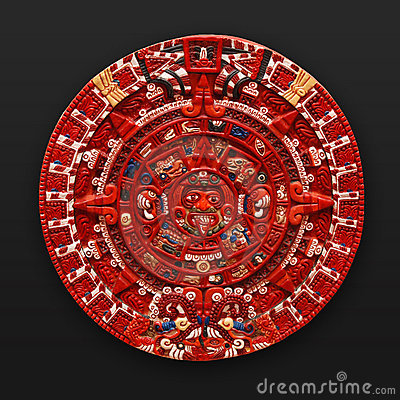 Calendario azteca de piedra América latina