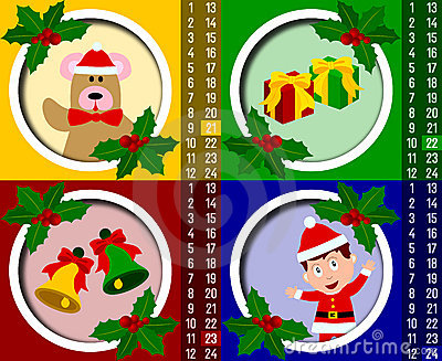 Calendario del advenimiento de la Navidad [6]