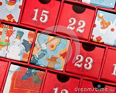 Calendario di avvenimento