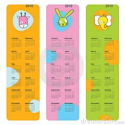 Calendars 2010