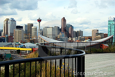 Calgary Downton and CN-Tower