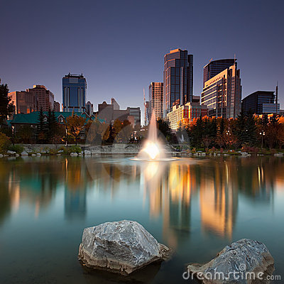Free Calgary Downtown Stock Images - 16252644