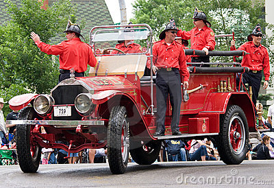 Calgary fire department Editorial Stock Image