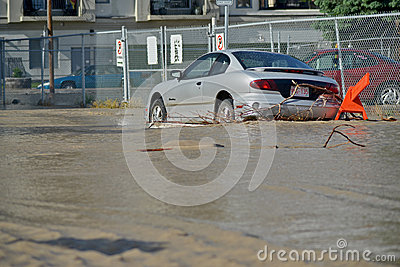 Calgary Flood 2013 Editorial Photography