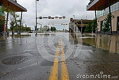 Calgary Flood 2013 Editorial Image
