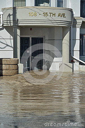 Calgary Flood 2013 Editorial Photo
