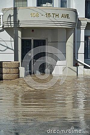 Calgary Flood 2013 Editorial Photo