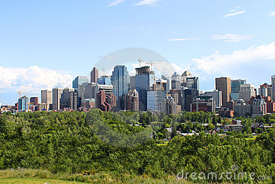Calgary office buildings