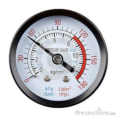 Calibre de pressão