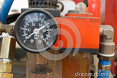 Calibro di pressione d aria dell automobile