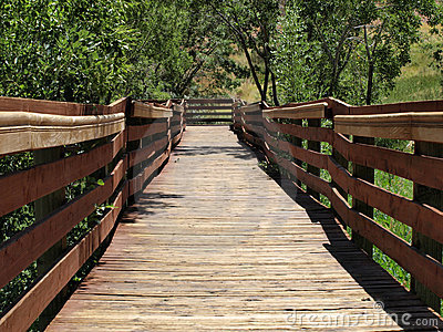 Calico Basin Red Spring Boardwalk