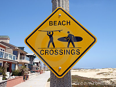 California Beach Crossing