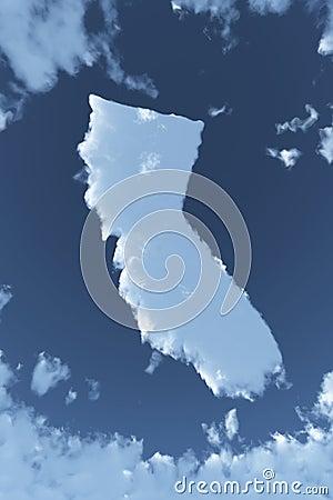 California in Clouds