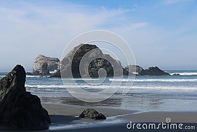 California Coast Landscape