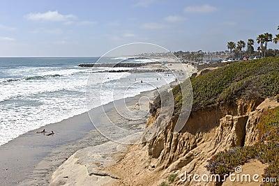 California coastline and beaches.